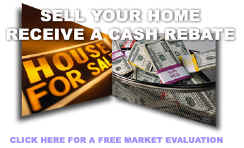 Sell your home and get cash back. Click here for a free market evaluation.